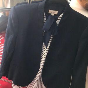 Loft short blazer.